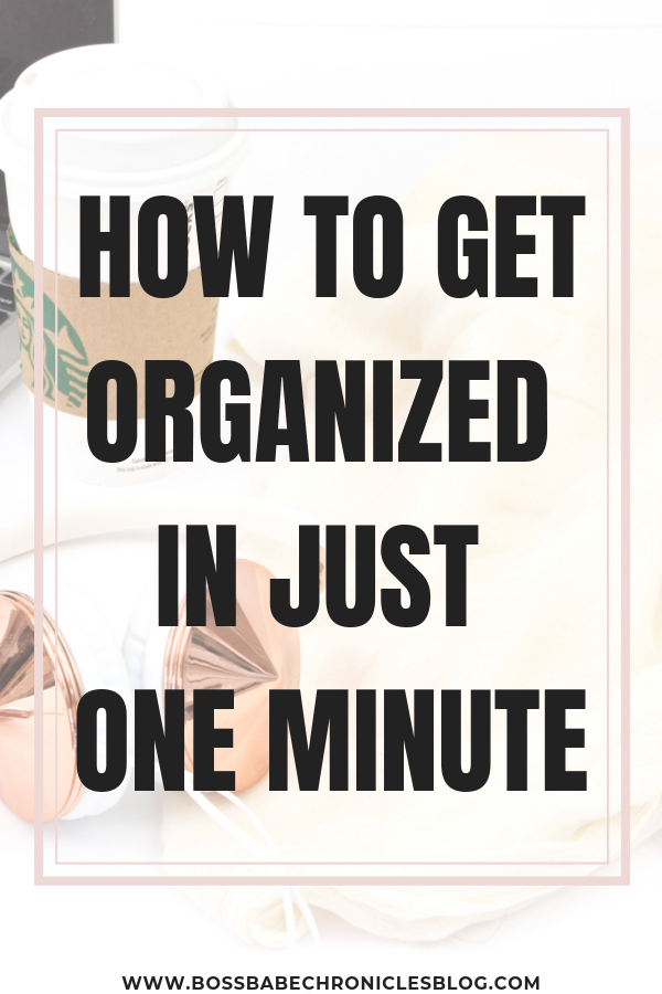 The One-Minute Rule
