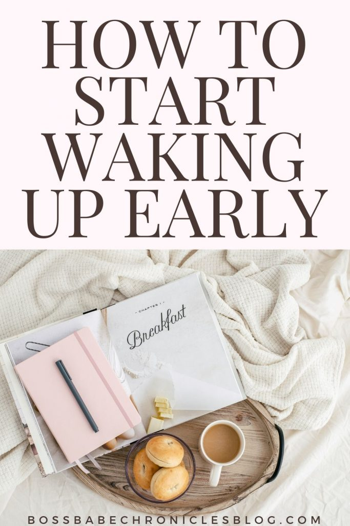 how to start waking up early