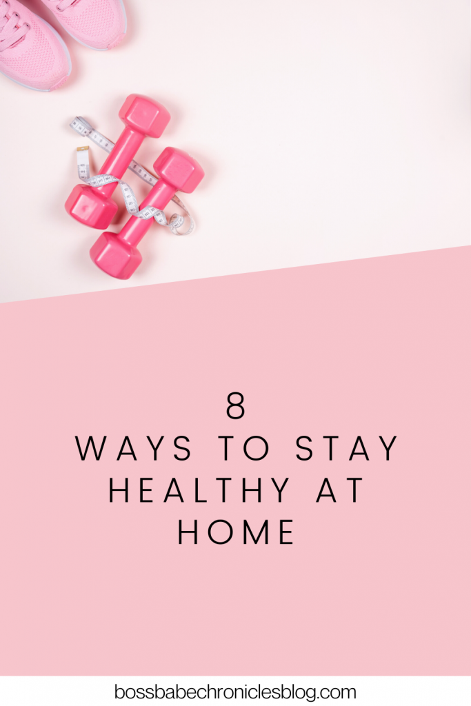 how to stay in shape at home
